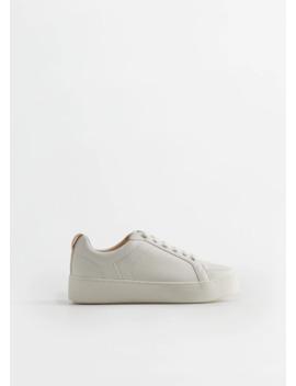 Platform Sneakers by Mango