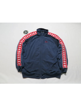 Vintage Kappa Zip Up Track Jacket Red / Navy Blue / White by Vintage  ×  Kappa  ×