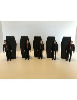 My Chemical Romance Coffin Action Figure Full Set Gerard Way Frank Iero Mikey by Ebay Seller