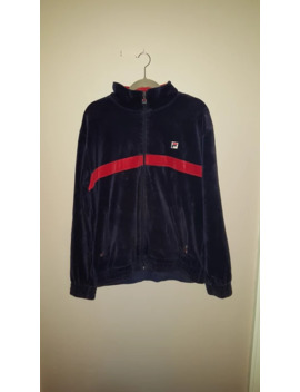 Vintage Fila Velour Full Zip by Fila  ×