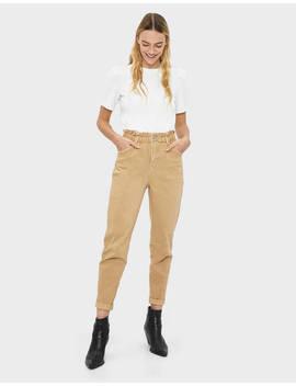 Pantaloni Con Vita Elasticizzata by Bershka