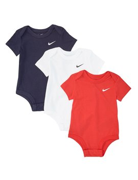 Baby Newborn 9 Months Swoosh Bodysuit 3 Pack by Nike