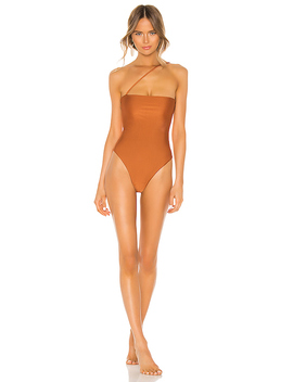 Balboa One Piece In Rustic Orange by Lovewave