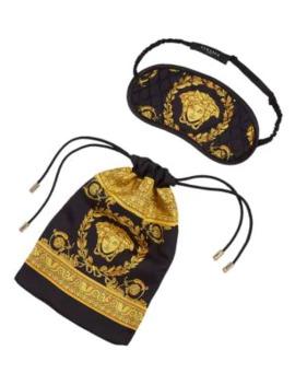La Coupe Des Dieux Silk Sleep Mask by Versace