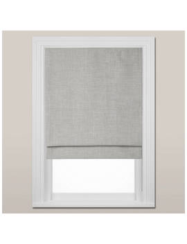 Croft Collection Shawford Blackout Roman Blind, Grey by Croft Collection