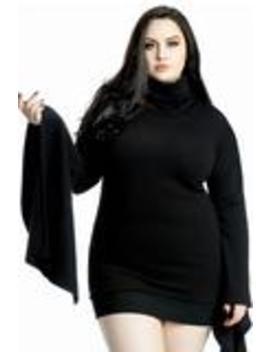 Arcadia Sweater Dress [Plus] by Killstar