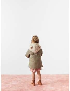 Fleece Jacket With Ears by Zara
