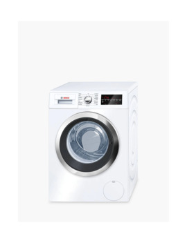 Bosch Wat32480 Gb Freestanding Washing Machine, 9kg Load, A+++ Energy Rating, 1600rpm Spin, White by Bosch