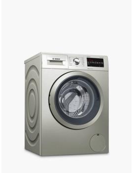 Bosch Wat2840 Sgb Freestanding Washing Machine, 9kg Load, A+++ Energy Rating, 1400rpm, Silver by Bosch