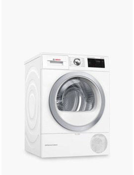 Bosch Wtwh7660 Gb Heat Pump Tumble Dryer, 9kg Load, A++ Energy Rating, White by Bosch