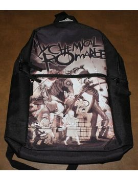My Chemical Romance Band Black Parade Officially Licensed Backpack by Ebay Seller