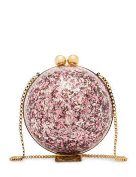 Sphere Glitter Ball Clutch Bag by Marzook