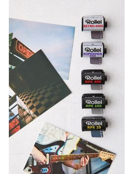 Rollei Fantastic 5 Black And White 35mm Film 5 Pack by Rollei