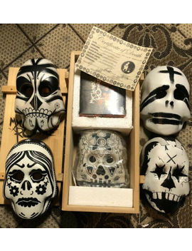 My Chemical Romance Dia De Los Muertos Masks by Ebay Seller