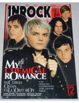 Inrock Japan Magazine Book 12/2006 ! My Chemical Romance Incubus Oasis Aerosmith by Ebay Seller