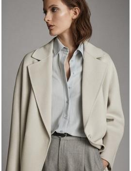 Button Up Shirt With Back Yoke by Massimo Dutti
