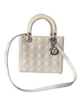 Lady Dior Lackleder Handtaschen by Dior