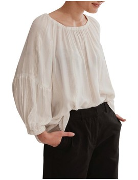 Elastic Neckline Blouse by Country Road