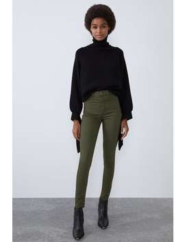 Hi Rise Super Elastic Jeggings by Zara