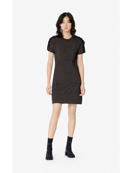 'holiday Capsule' Frilled Glitter Dress by Kenzo