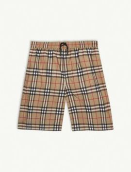 House Check Swimshorts 3 14 Years by Burberry