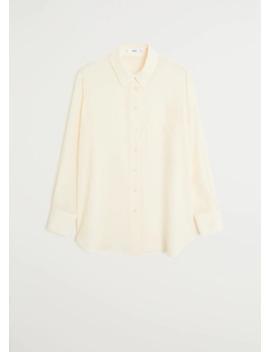 100 Percents Silk Blouse by Mango
