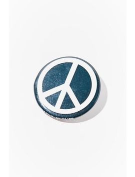 Vintage Peace Pin by Urban Renewal