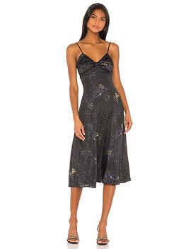 Tatum Midi Dress In Stardust Multi by Song Of Style