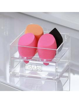 "Acrylic Organizer ""One For Sponges\"", For Storing Beauty Blenders And Other Makeup Sponges by Etsy"
