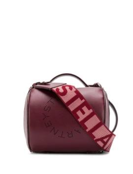 Stella Logo Barrel Shoulder Bag by Stella Mc Cartney