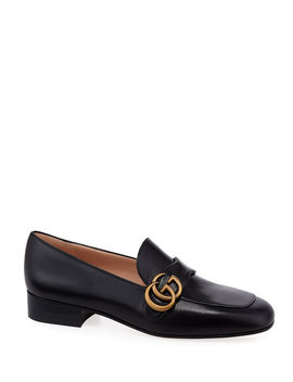 Marmont 25mm Leather Loafers by Gucci