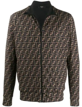 Ff Print Jacket by Fendi