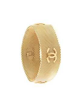 Textured Cc Bracelet by Chanel Pre Owned