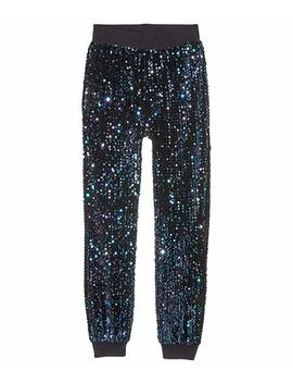 Gia Multi Sequins Joggers (Big Kids) by Habitual Girl