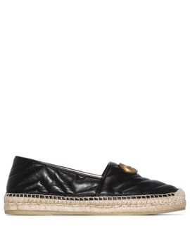 Marmont Gg Plaque Espadrilles by Gucci