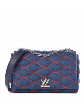 Louis Vuitton Denim Malletage Go 14 Mm Denim Dark by Louis Vuitton
