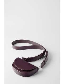 Mini Sac BandouliÈre Ovale by Zara