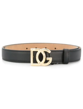 Logo Buckle Belt by Dolce & Gabbana