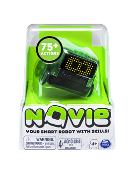 Novie, Interactive Smart Robot With Over 75 Actions And Learns 12 Tricks (Green), For Kids Aged 4 And Up by Novie