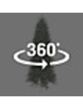 Ge 7.5 Ft Pre Lit Aspen Fir Slim Artificial Christmas Tree With 800 Constant White Clear Incandescent Lights by Lowe's