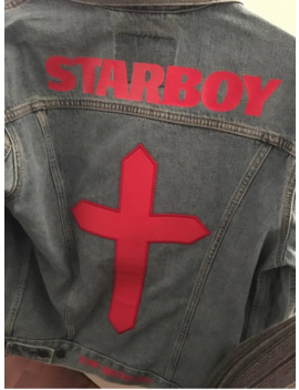 The Weeknd Starboy Levi Denim Jacket From Toronto Popup by Levi's  ×