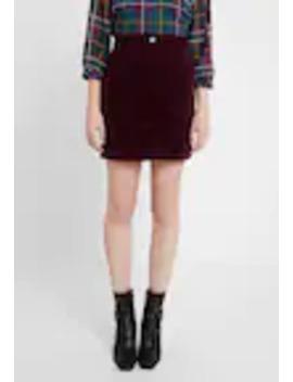 Patch Pocket Skirt   Minikjol by Dorothy Perkins