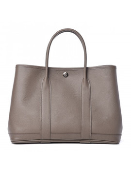 Hermes Epsom Garden Party 30 Tpm Etain by Hermes