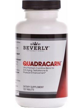 Quadracarn                                                                   , 120 Tablets by Beverly International