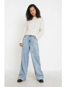 Uo Alice Cable Knit Jumper by Urban Outfitters