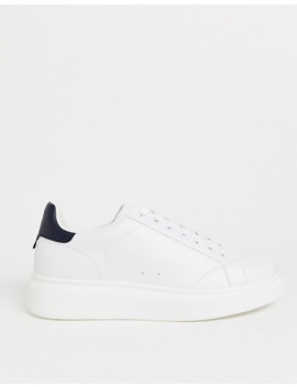 Pull&Bear Sneakers With Chunky Sole In White by Pull&Bear