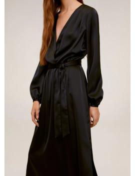 Robe Midi Satinée by Mango