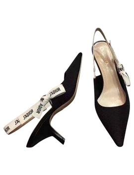 Black & White Limited Edition J'adior Slingback 65mm Heels Pumps by Dior