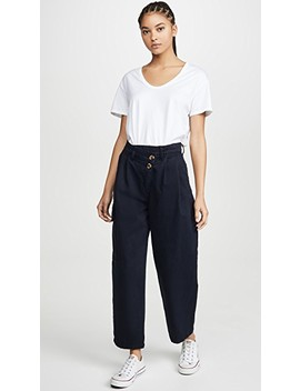 Angled Pleat Pants by Nobody Denim