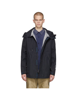 Navy Hiker Hooded Jacket by Nonnative